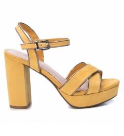 Sandalias 035178 amarillo -Altura del tacón: 11 cm-