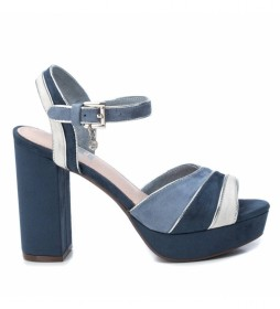 Sandalias 035180 azul -Altura tacón: 11cm-