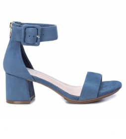 Sandalias 035196 azul -Altura tacón: 7cm-