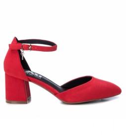 Zapatos 035182 rojo -Altura tacón 6 cm-
