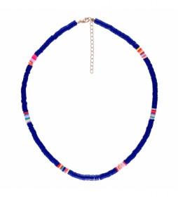 Collar Arcilla Polimerica azul