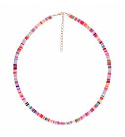 Collar Arcilla Polimerica multicolor