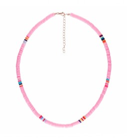 Collar Arcilla Polimerica rosa