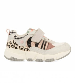 Buy Gioseppo Barstow slippers with beige animal print