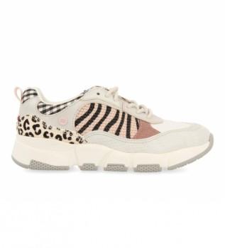 Buy Gioseppo Sneakers Solvang with Animal Print beige, animal print