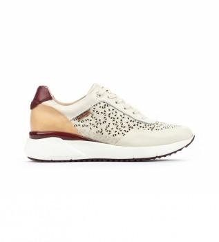 Acheter Pikolinos Chaussures en cuir Sella W6Z blanc