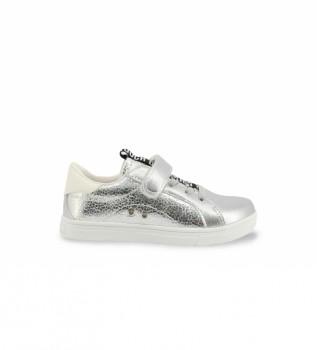 Buy Shone Slippers 231-037 silver