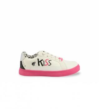Buy Shone Sneakers 19058-007 white, fuchsia
