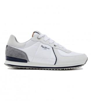 Comprar Pepe Jeans Sapatilhas de couro Tinker city 21 branco