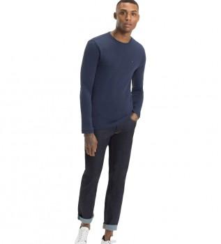 Comprare Tommy Hilfiger Maglietta TJM Original RIB a maniche lunghe blu navy