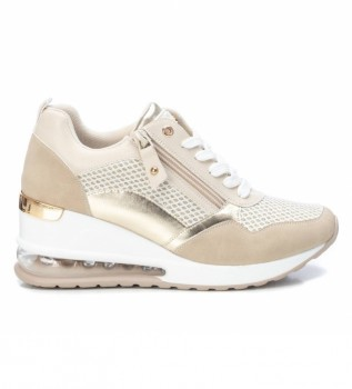 Buy Xti Shoes 042626 beige - Wedge height: 6 cm