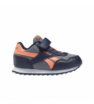 Buy Reebok Sneakers Reebok Royal Classic Jogger 3 blue, grey, orange