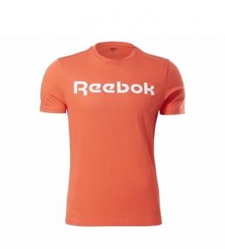 Buy Reebok Graphic Series Linear Logo Tee Orange