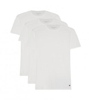 Comprare Tommy Hilfiger T-shirt CN a maniche corte bianche in confezione da 3