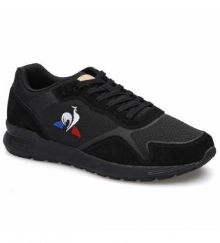 Acheter Le Coq Sportif Baskets en cuir OMEGA Y noir