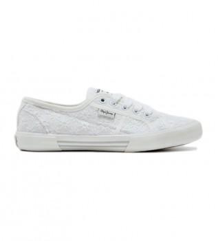 Buy Pepe Jeans Aberlady lace WHITE