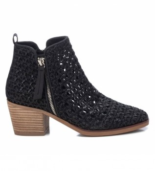 Buy Xti Ankle boots 042373 black -Height heel 6cm