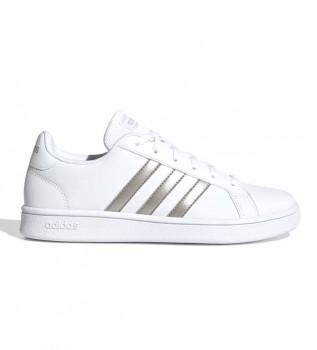 Comprar adidas Zapatillas Grand Court blanco, platinium