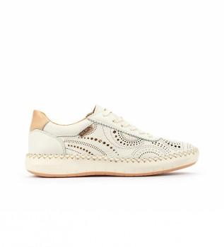 Comprar Pikolinos Sapatos de couro Messina W6B branco