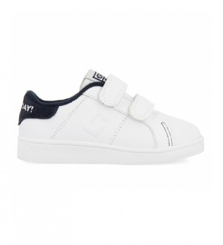 Buy Gioseppo Volsk Leather shoes, white, navy