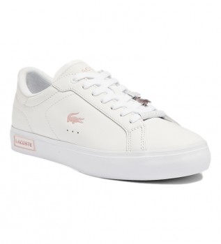 Acheter Lacoste Chaussures PowerCourt 0921 1 SFA blanc, rose