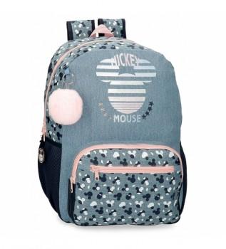 Acheter Joumma Bags Sac à dos pour ordinateur Mickey Bleu Denim -32x42x15cm