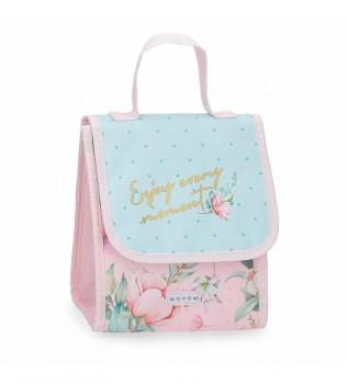 Comprar Movom Aprecie o saco térmico de armazenamento de alimentos azul, rosa -20x23x14cm