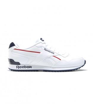 Acheter Reebok Chaussures Royal Glide Ripple Clip Shoes blanc, marine, rouge