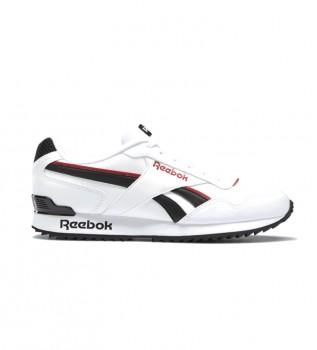 Comprare Reebok Scarpe Royal Glide Ripple Clip bianche, nere, rosse
