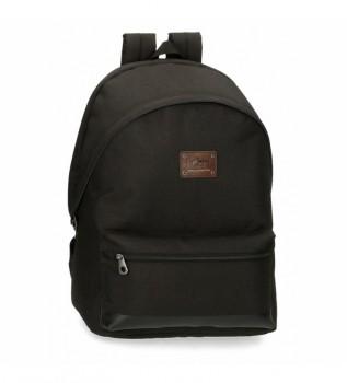 Buy Pepe Jeans Dalton backpack black -31x44x15cm