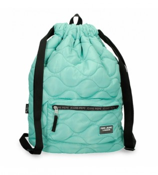 Buy Pepe Jeans Backpack Saco Orson turquoise -32x45x15cm
