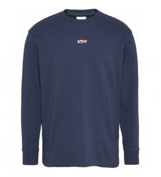 Comprare Tommy Hilfiger TJM Tiny Tommy Script T-shirt blu navy