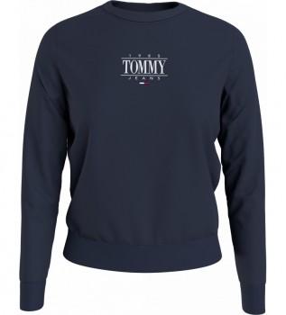 Comprare Tommy Hilfiger Felpa TJW Reg Essential blu navy