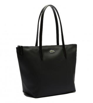 Acheter Lacoste Sac shopping femme noir -24x24,5x14,5cm