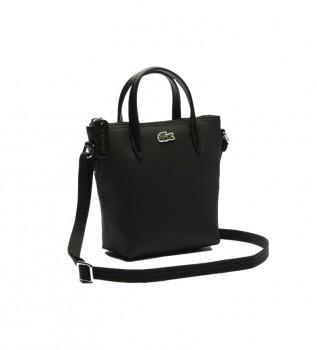 Acheter Lacoste Sac fourre-tout XS noir -15 x 18 x 7 cm- noir