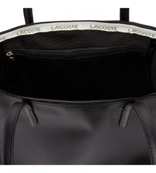 Acheter Lacoste Sac shopping femme noir -35x30x14cm