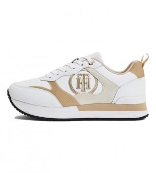 Acheter Tommy Hilfiger Féminin Active City baskets en cuir blanc