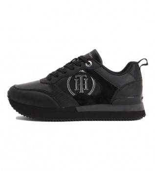 Acheter Tommy Hilfiger Feminine Active City chaussures en cuir noir