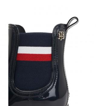 Comprare Tommy Hilfiger Stivali di gomma Corporate Ribbon neri