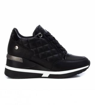 Comprar Xti Zapatillas 043236 negro -Altura de la cuña 7cm-