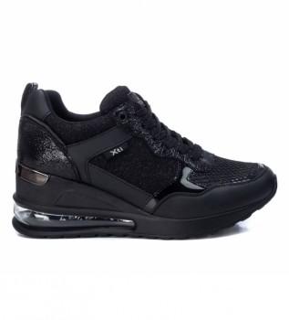 Buy Xti Sneakers 042946 black -Height wedge: 7cm