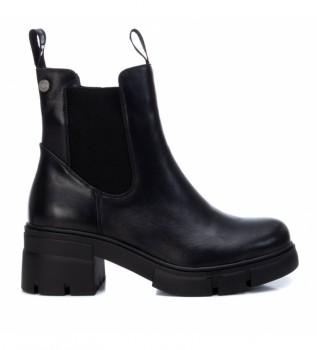 Buy Refresh Ankle boots 076270 black - Heel height 5cm