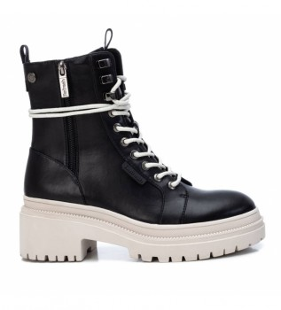 Buy Refresh Ankle boots 077891black, white