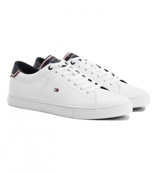 Buy Tommy Hilfiger Essential Leather sneakers white