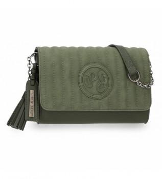 Comprar Pepe Jeans Saco de ombro Lia flap verde -23x15x5,5cm