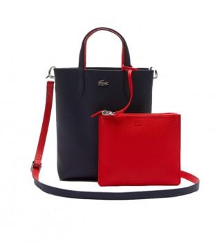 Acheter Lacoste Anna Sac fourre-tout réversible marine, rouge -29x22x10cm