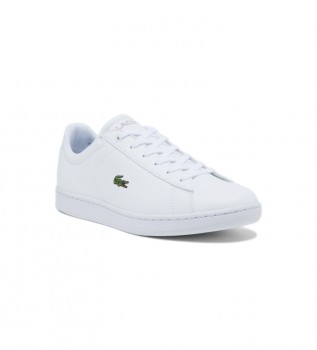 Acheter Lacoste Chaussures Carnaby Evo BL blanches
