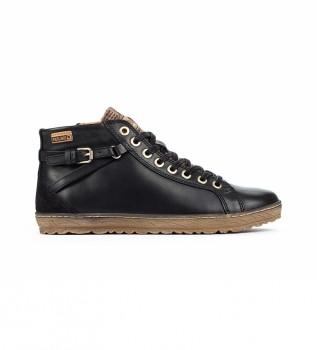 Comprar Pikolinos Lagos 901 botas de couro para tornozelo preto