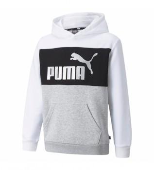 Buy Puma Sweatshirt ESS+ Colorblock white, black, grey