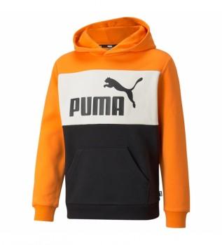 Acheter Puma Sweat-shirt ESS+ Colorblock orange